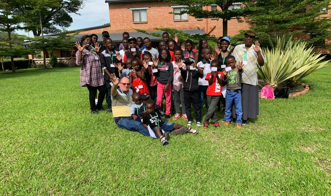 Magone Children and Youths Celebrate Christmas