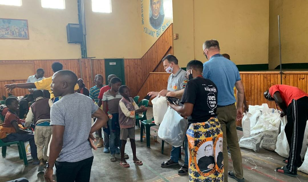 SUPPORT FOR STREET CHILDREN CONTINUES AT DON BOSCO