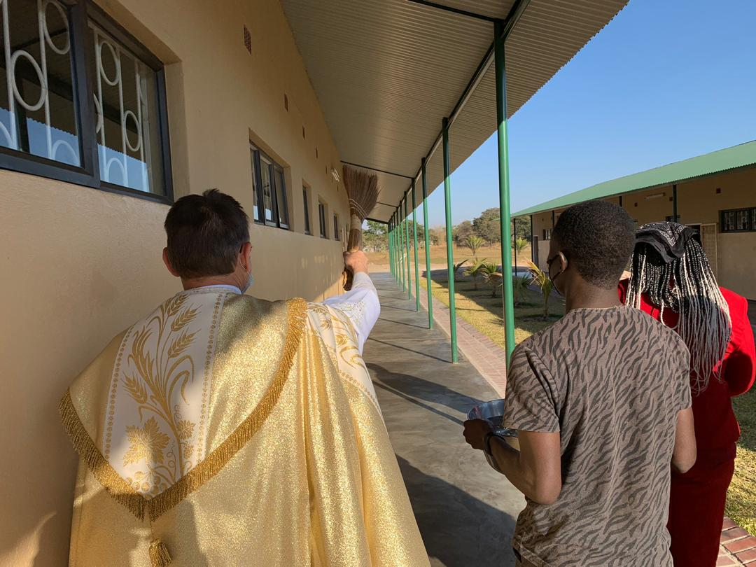 BLESSING OF THE NEW CLASSROOM BLOCKS AND SEMINAR ON SUBSTANCE ABUSE AND COVID – 19