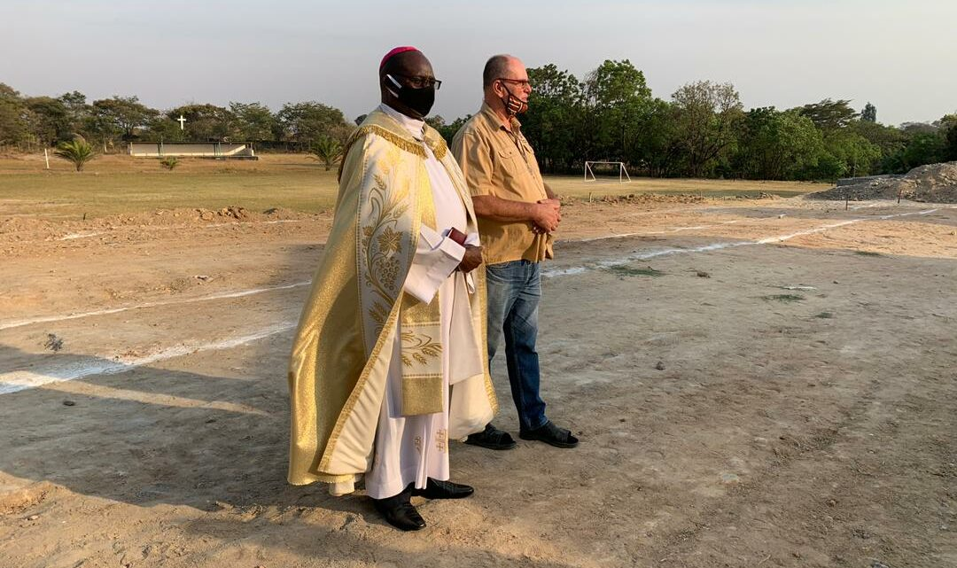 BLESSING OF THE CONSTRUCTION SITE FOR THE LABORATORIES AND STAFF ROOM BLOCK AT DON BOSCO TECHNICAL SECONDARY SCHOOL – CHINGOLA